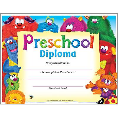 Preschool Diploma (Furry Friends®)